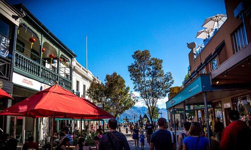 Top 3 Reasons to Visit Queenstown people walking - Top 3 Reasons to Visit Queenstown